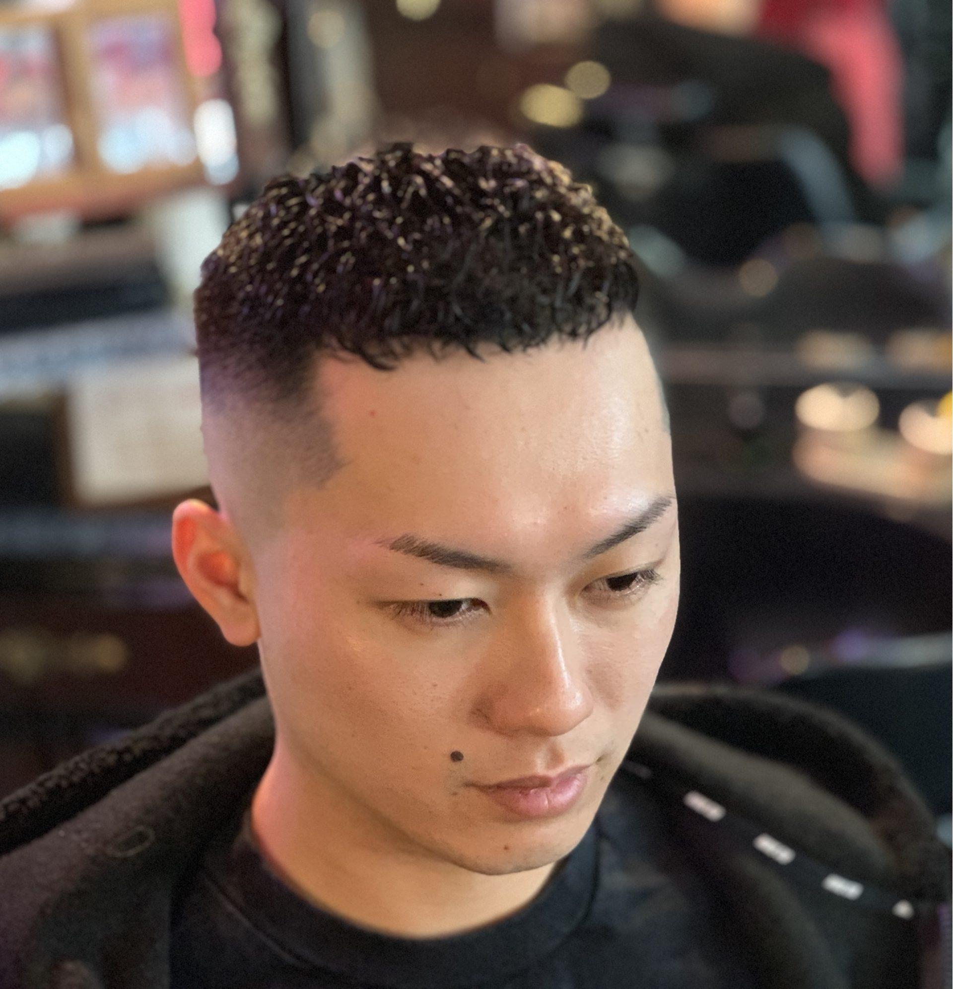 髪型 クロップ